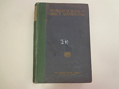 The Buckeye Book of Direct Advertising 1925 Marketing Direct Typography