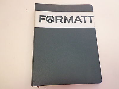 Formatt Binder with Graphic Products Corporation Pages 1960's Typography