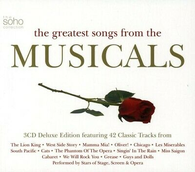 Various Artists - Greatest Songs From The Musicals [New CD] UK - Import