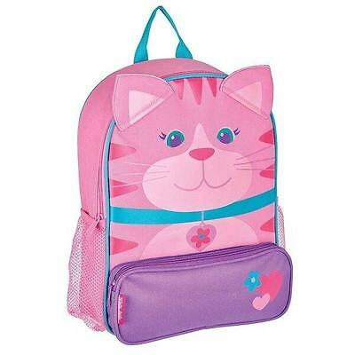 Personalized Stephen Joseph Sidekicks Cat Backpack