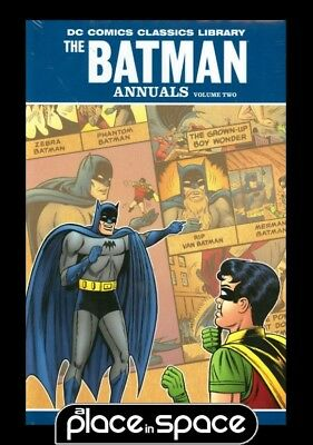 Dc Library Batman The Annuals Vol 02 - Hardcover