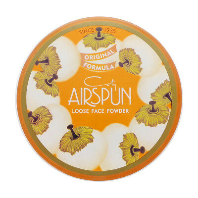 (3 Pack) COTY Airspun Loose Face Powder - Translucent Extra Coverage (Free Ship)