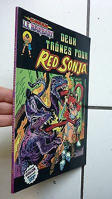 Artima Color Marvel / Conan /  Deux Trones Pour Red Sonja  / 1981