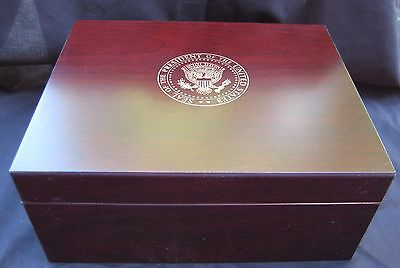 Seal of the President  Humidor / White House / Presidential Item