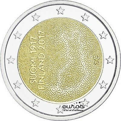 Coin 2 euros commemorative FINLAND 2017 100 years de l'Finnish Independence
