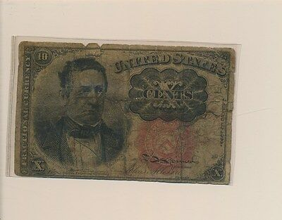 Fractional Note 10 Cent - 1874 - #b