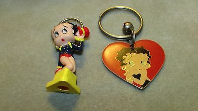 12224 Betty Boop Pair Of  Key Chains