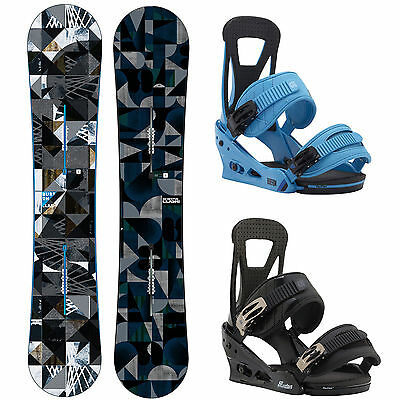 Set Burton Clash Snowboard 2016/2017 + Burton Freestyle 2015/2016 Binding New