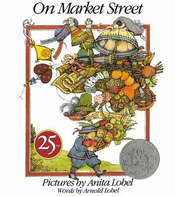 On Market Street by Arnold Lobel, Brand New Paperback Book English Free Shipping