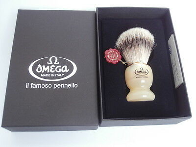 TOP Rasierpinsel OMEGA 621 Dachs Shaving brush Super badger !!