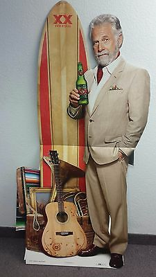 2 Dos Equis Beer The Most Interesting Man Cinco De Mayo Stand Up New In Box