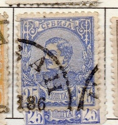 Serbia 1880 Early Issue Fine Used 25p. 157178