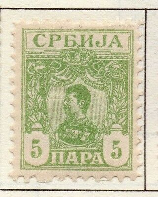 Serbia 1901 Early Issue Fine Mint Hinged 5p. 157202