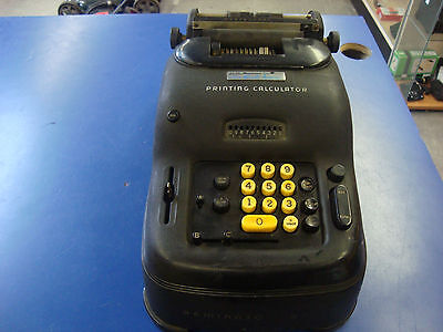 Vintage Remington no.96 Calculator Mid Century Adding Need Tune Up