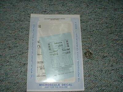 Early Ventilated /& Insu Microscale Decal N #60-1505 Fruit Growers Express FGEX