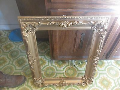 victorian rococco double built frame gold giltded and ornate