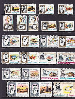Middle East stamps - 24 Used