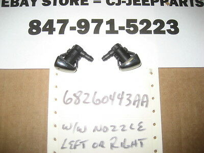 Jeep Grand Cherokee 2005-2017 Wiper Washer-Windshield-Washer Nozzle PAIR