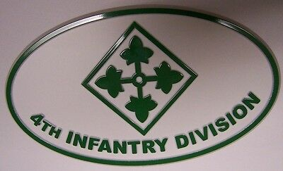 Trailer Hitch Cover Military U S Army 4th Fourth Infantry Division NEW