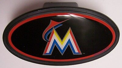 Trailer Hitch Cover MLB Baseball Miami Marlins NEW