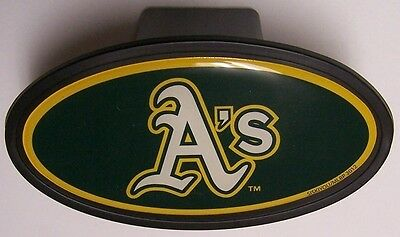 Trailer Hitch Cover MLB Baseball Oakland Athletics NEW