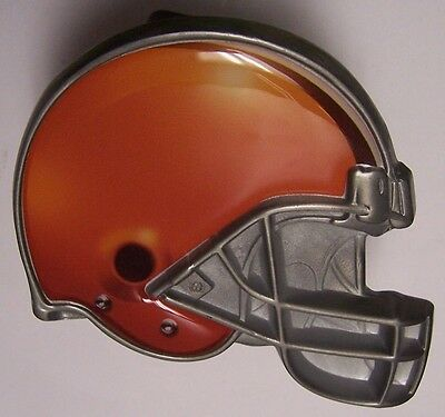 Trailer Hitch Cover NFL Cleveland Browns NEW Metal Football Helmet
