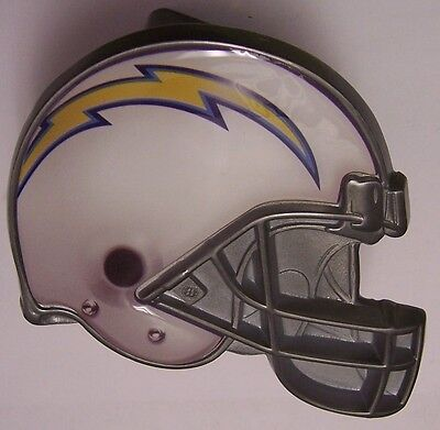 Trailer Hitch Cover NFL Los Angeles Chargers NEW Metal Football Helmet