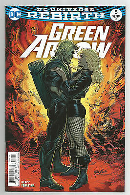 GREEN ARROW # 5 * NEAL ADAMS cover * DC UNIVERSE REBIRTH