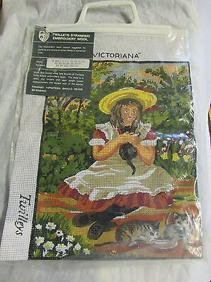 "**LOOK** NEW & Unused TWILLEYS Counted Cross Stitch Tapestry Kit "" VICTORIANA """