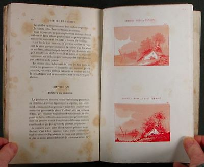 Antique French Victorian China Painters Guide - 1886 China Painting Book