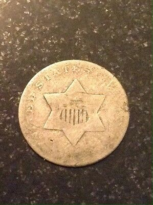 Three Cent Silver Piece No Date