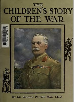 The Children's Story of the War Book Collection + 2 books WW1 Great War CD disc