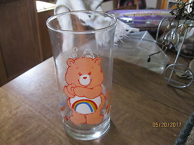 care bear enjoy pizza hut glass
