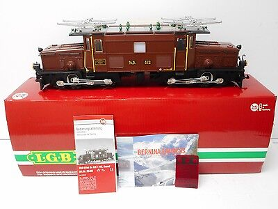 "LGB 25402 RHB Elok GE 4/4 ""Baby Crocodile"" Sound & Lights G Scale"