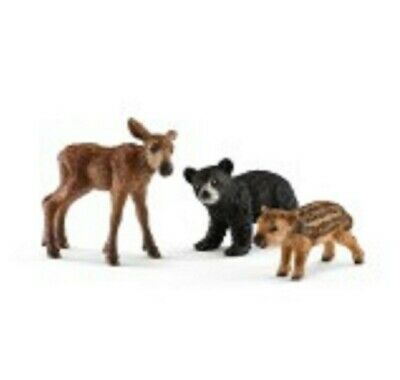 Forest Animal Babies 41457 strong tough looking Schleich Anywheres a Playground