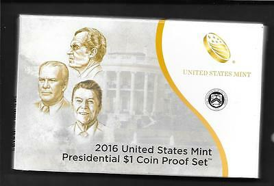 2016-S  US Presidential One Dollar Proof4 coin  Set with CAO