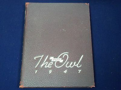 1947 University Of Pittsburgh Yearbook - The Owl - Great Photos - K 35