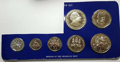 1980 Jamaica 7-Coin Proof Set (Inv 4008)