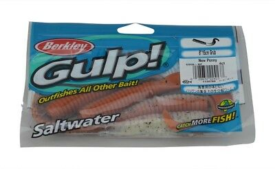 Berkley Gulp 6 inch grub fishing lures