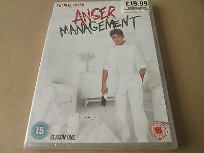 Anger Management - Series 1 - Complete (DVD 2-Disc Set) NEW SEALED REGION 2