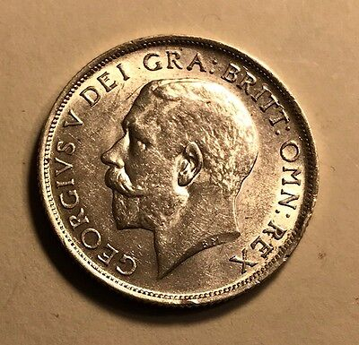 GREAT BRITAIN - George V - Shilling - 1918 - See Images - Luster +++