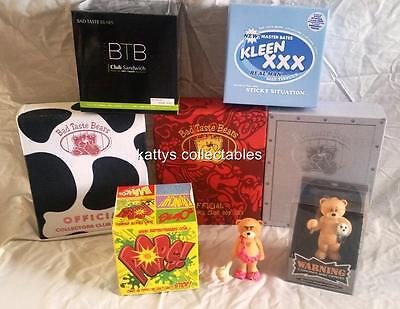 Bad Taste Bears Figurines Membership Editions: Choose From A Selection