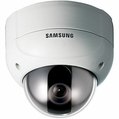 Samsung SCV-2120P 12x High Resolution Vandal-Resistant Dome Camera