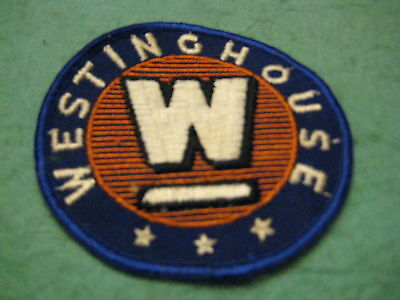 """Vintage  Westinghouse Appliance Patch Sew On Only 3 1/2"""" X 3 1/2"""""""
