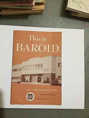 "THIS IS BAROID ""New Headquarters """
