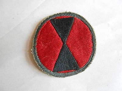 Vintage WWII ? US Army 7th Infantry Division Patch
