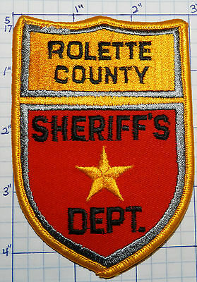 North Dakota, Rolette County Sheriff's Dept Patch
