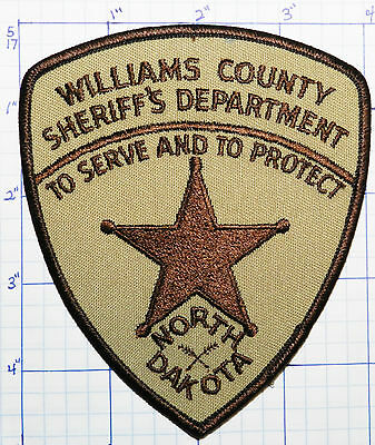 North Dakota, Williams County Sheriff's Dept Version 2 Patch