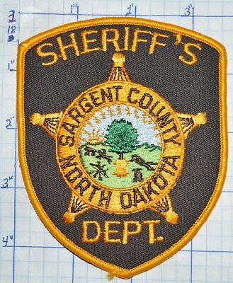 North Dakota, Sargent County Sheriff's Dept Patch