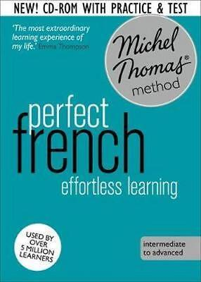 NEW Perfect French By Michel Thomas Audio CD Free Shipping